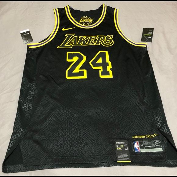 c706e4798 Nike LA Los Angeles Lakers Kobe Bryant LORE Jersey